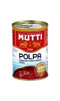 Pulpe de tomate concassées/fines Mutti