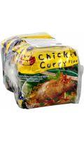 Nouilles instantanées saveur poulet curry Wai Wai
