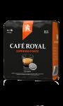 Café Royal compatibles système Senseo®* Espresso Forte x36 dosettes souples