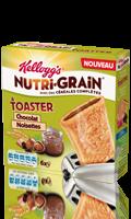 Nutri-Grain à toaster Chocolat Noisette Kellogg\'s
