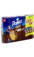 Biscuits chocolat/lait chocolat Prince de LU