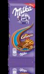 Milka aux éclats de cookies Granola