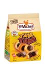 Gâteaux goût vanille cœur chocolat St Michel