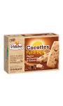 Biscuits chocolat et graines St Michel