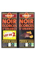 Chocolat bio noir/écorces d'orange Alter Eco