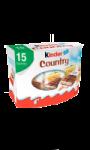 Barres céréales chocolat au lait Kinder Country