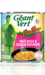 Maïs doux & duo de poivrons à poêler Géant Vert