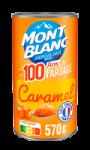 Crème dessert caramel Mont Blanc