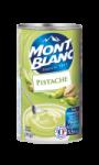 Crème dessert pistache Mont Blanc
