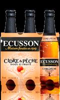 Cidre & Pêche 3x33cl Ecusson