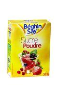Sucre en poudre Béghin Say