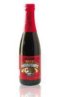 Bière aromatisée Kriek Foudroyante