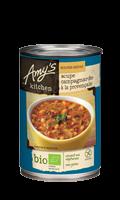 Soupe bio à la provençale Amy's Kitchen