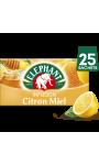 Elephant Infusion Citron Miel 25 Sachets 50g