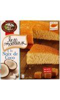 Gâteau moelleux coco Comtes de la Marche