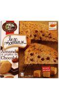 Gâteau moelleux amande pépites choco Comtes de la Marche