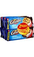 Biscuits gros éclats de chocolat Granola