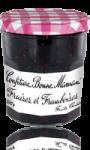 Confiture fraises framboise Bonne Maman