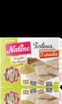 Tartines gourmandes aux 3 céréales Natine