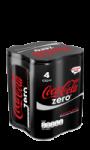 Pack  4X25cl Coca-Cola Zéro