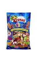 Confiseries Festival aromatisées parfums assortis  Kréma