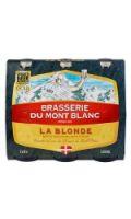 Bière la Blonde Brasserie Mont Blanc