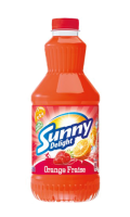Sunny Delight - Boisson Rafraichissante - Orange Fraise