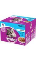 Whiskas® Sélection aux poissons en gelée pour chat 1+ 24x100g