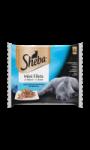 Sheba Delice sachets fraîcheur aux poissons en sauce 4x85g