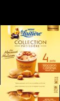 4 pots Macaron Caramel beurre salé La Laitière