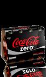 Bouteilles de verre Coca-Cola Zéro