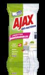 Lingettes nettoyantes biodégradables Ajax