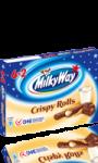 Crispy rolls fourrage au lait et enrobage au chocolat au lait  Milky Way