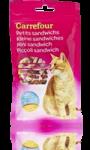Petits sandwich au poulet pour chat Carrefour