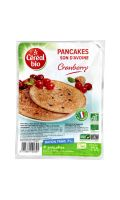 Pancakes son d'avoine Cranberry Céréal
