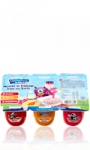 Mousse de fromage frais au fruits Carrefour KIDS