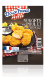 Nuggets de poulet - viande 100% filet Douce France