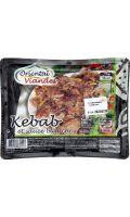 Plats cuisinés halal kebab/sauce blanche Oriental Viandes