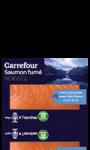 Saumon fumé Norvège 4 tranches Carrefour