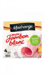 Mon Jambon Blanc Madrange 4 tranches