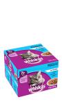 Whiskas® Sélection aux poissons en gelée pour chats de 7+ 24x100g