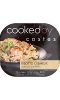 Plat cuisiné risotto poulet/petits pois Costes
