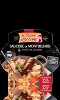 Cassolette de Montbéliard et Potée de Légumes La Cuisine d\'Océane