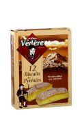 Biscuits des Pyrénées Biscuiterie Védère