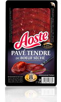 Pavé tendre de Boeuf séché Aoste