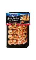 Brochettes de crevettes provençale Delpierre