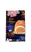 Rôti de chapon farce foie gras/Cognac Douce France