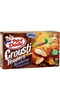 Aiguillettes de poulet panées Crousti Tenders Père Dodu
