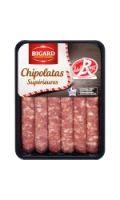 Saucisses chipolatas Bigard