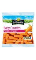 Carottes Baby prêtes à croquer Florette